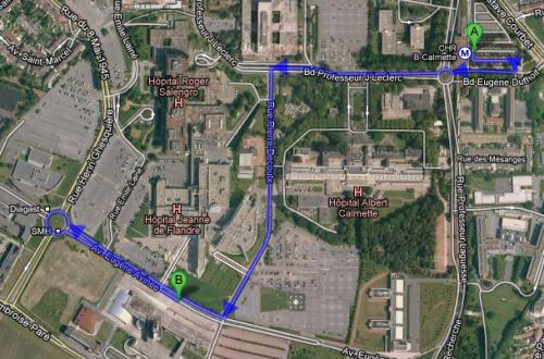 Plan CHRU avecc accès Rue Ambroise Paré.jpg.png