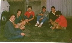 Henri Bostamante, Christophe Fontaine, Christian Gautreau, Florent Nibel, Vianney Martin, Louis Winoc Christians.JPG